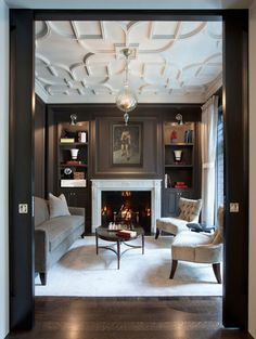Family Room Fireplace surround example