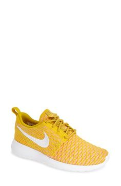 Nike FlyKnit Roshe Run Sneaker (Women) available at #Nordstrom