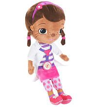 Your child can cuddle up to his or her favorite Disney Jr. doctor with the Doc McStuffins Pillowtime Pal. This trusty toy has her stethoscope around her neck in case of any health emergencies...