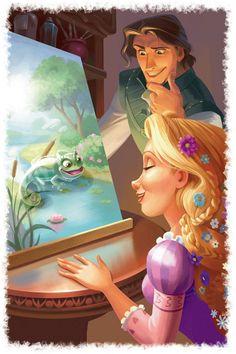 How come Flynn aka Eugene looks like Tarzan? Disney Nerd, Disney Fan Art, Cute Disney, Disney Artwork, Disney Drawings, Disney Dream, Disney Magic, Disney And Dreamworks, Disney Pixar