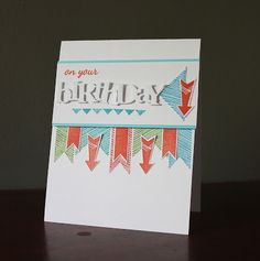 just another card making blog: On your Birthday