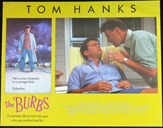 An overstressed suburbanite and his fellow neighbors are convinced that the new family on the block are part of a murderous Satanic cult. The 'burbs, Tom Hanks, Sale Poster, Film Posters, A Good Man, Comedy, The Originals, Guys, Shop