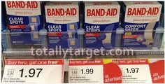 Target: As low as ONLY $.65 each for Band-Aid Adhesive Bandages with B2G1 FREE Sale & Printable Coupons! - http://www.couponaholic.net/2015/01/target-as-low-as-only-65-each-for-band-aid-adhesive-bandages-with-b2g1-free-sale-printable-coupons/