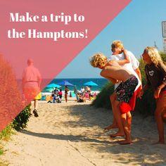 Need a sunny beach getaway while you're on Long Island? Then visit the Hamptons! They have plenty of great beaches!  RamadaRVC.com . . . . #Ramada #RockvilleCentre #LongIsland #NewYork #Hotel #Inn #Affordable #Stay #Near #JFK #JAG #AAA #AARP #discounts #Wedding #trends #rooms #block #planning #girlstrip #weekend #getaway #adventure #breakfast Long Island Attractions, Rockville Centre, Hotel Inn, Sunny Beach, Jfk, Wedding Trends, The Hamptons, Beaches, Rooms