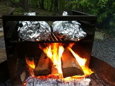 Foil packing cooking makes campfire cooking very convinient. Read these tips for foil packet cooking like always put meat on the bottom because it takes the longest to cook!