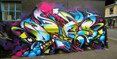 graffiti does wall Best Graffiti, Graffiti Tagging, Graffiti Wall Art, Graffiti Drawing, Graffiti Lettering, Street Art Graffiti, Mural Art, Images Alphabet, Spray Can Art