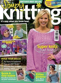 Ravelry: Simply Knitting 41, May 2008