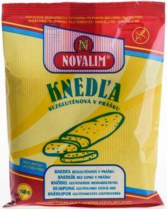 Novalim_Bezlepkova_Knedla1 Gluten Free Flour Mix, Lactose Free, Dumpling, Sans Gluten, Food, Essen, Meals, Yemek, Eten