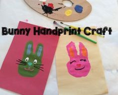 Easter Bunny Handpri
