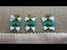 ÇATALLA İĞNE OYASI - PÜSKÜL OYASI/ / crochet, knitting, dıy, handmade, craft, patterns, - YouTube