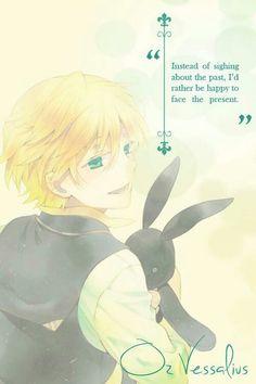 Oz vessalius Pandora hearts ^,^ quote