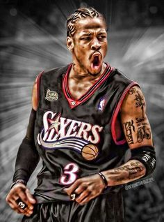 the answer in 2001 NBA Finals Basketball Workouts, Basketball Pictures, Basketball Legends, Love And Basketball, Sports Basketball, Basketball Players, Basketball Stuff, Nba Sports, Sports Memes