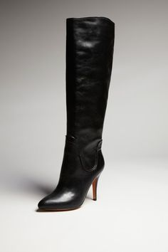 Just got these online for less than what the tax would have been full price. Joan & David Selya Black Leather Stiletto High Boot