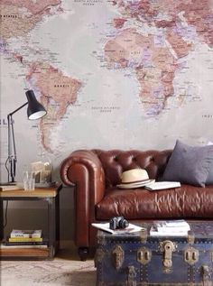 A study influenced by maps/travel pieces….because the best way to learn is to see the world
