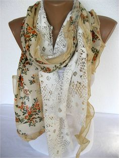ON SALE  Trend Scarf Fashion Scarf  by SmyrnaShop on Etsy, $18.90