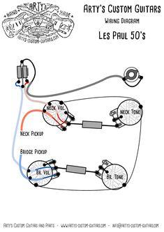 die 61 besten bilder von wiring diagram guitar kit in 2019 bass Vintage Les Paul Wiring Diagram