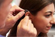 Adjusting to hearing aids means successful hearing.