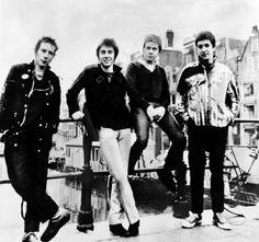 The Sex Pistols (1977): Paul Cook, Steve Jones, Glen Matlock and Johnny Rotten