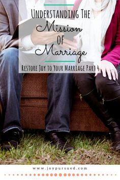 Learn how God's mission for marriage gives us a framework for dealing with the challenges and for restoring joy to marriage. Click to read.