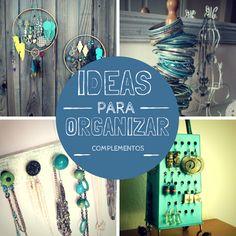 Ideas Originales para Organizar Pendientes y Collares
