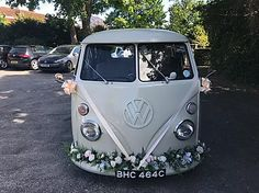 Wedding Car Hire Rochester | The White Van Wedding Company | Kent Wedding Vans, Wedding Car Hire, Wedding Company, Vw Campervan Hire, Car Cost, London Bride, Quirky Wedding, White Vans, Retro Cars