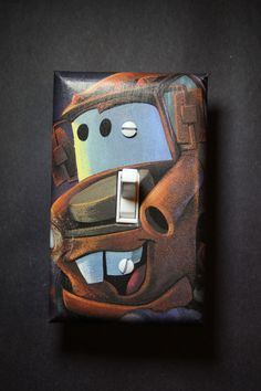 Cars Tow Mater Light Switch Plate Cover Boys Girls Child Kids Room Home Decor  Bedroom Lightning McQueen Disney Pixar