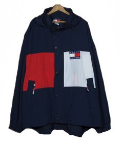 Excited to share the latest addition to my #etsy shop: Rare 90's Tommy Hilfiger Windbreaker/ Big Flag / Tommy Hoodie/ Tommy Hilfiger Sweater/ Tommy Hilfiger Sailing Gear XXL http://etsy.me/2E9ozHA #clothing #jacket #blue #birthday #red #vintagetommy #tommyoutdoor #hilf