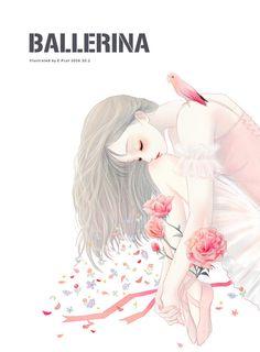 Anime Girl Drawings, Art Drawings Sketches, Anime Art Girl, Manga Art, Cute Drawings, Painting Of Girl, Girl Paintings, Anime Kawaii, Cartoon Art