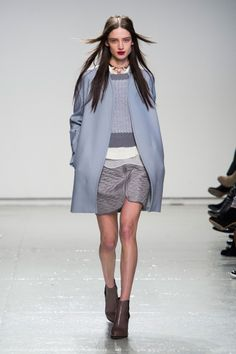 Rebecca Taylor, AW 2014-2015, New York #NYFW collarless
