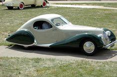 French Art Deco Cars: Talbot-Lago Bodied by Figoni et Falaschi ...