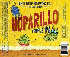 Hoparillo Triple IPA, Knee Deep Brewing