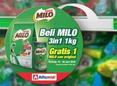 MILO Wobbler Gratis MILO Kaleng  For more design/pictures: http://ift.tt/29UmLSt