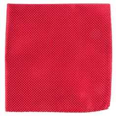PINPOINT POCKET SQUARES - RED | Ties, Bow Ties, and Pocket Squares | The Tie Bar