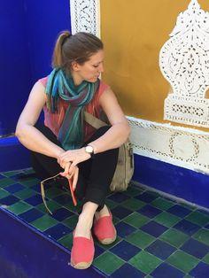Yves Saint Laurent garden Marrakech