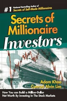 Ebook Secrets of Millionaire Investors Free Download [pdf]   Adam Khoo is currently the Chairman and Senior Training Specialist Group of Educational Adam Khoo Learning Technologies Group, specializes in organizing training courses and seminars for multinational companies and individuals across Asia. Also Adam is also a leading consultant in the field of finance, marketing, management, leadership and promoting human potential.   Download Ebook Download Ebook Buy Ebook From Amazon          Sec