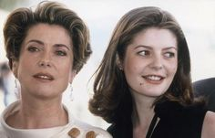 Catherine Deneuve & her daughter Chiara