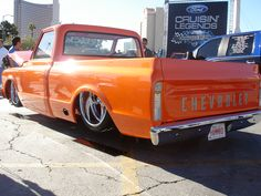 '67 C10 - Love the color and the body style!