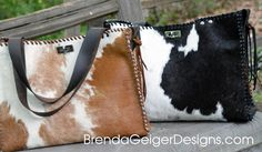 New for Fall - Cowhide Totes