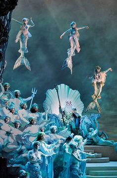 Domingo as Poseidon in the enchanted island, met opera
