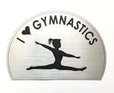 Girl's Gymnastics Magnet by MillerCustomSolution on Etsy
