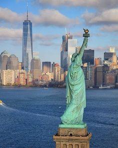 Statue of Liberty perspective🗽~ New York, New York  Photo: @ja3walk3n Congrats! 😍  #living_destinations #newyork #newyorkcity #newyorker #unitedstates #usa #newyork_ig #ig_newyork #igersnewyork #cityscape #cityview #traveladdict #travelphotography #travel #architecturelovers #architecture #archilovers #postcardsfromtheworld #landscapelovers #places_wow #goexplore #keepexploring #world #travelgram #passportready #ilovetravel #tourism #nyc🗽 #nyc #nyc❤️
