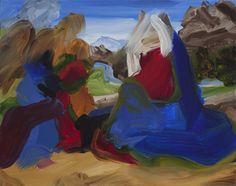 Two Angels III, 2014 Elise Ansel