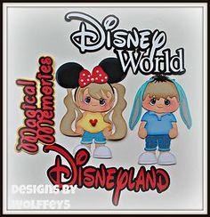 ELITE4U Disney Girl Boy Paper Piecing Premade Scrapbook Page Album WOLFFEY5   eBay