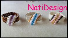 DIY Jewelry ideas, tips, techniques and designs. Learn how to make handmade jewelry with the step by step and instructions. Custom Jewelry, Diy Jewelry, Jewelry Rings, Handmade Jewelry, Jewelry Making, Jewelry Ideas, Beaded Jewelry Patterns, Beading Patterns, Design Youtube