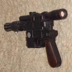 Star Wars  Han Solo DL44 Blaster  Customised Toy  by Badsprout, £40.00