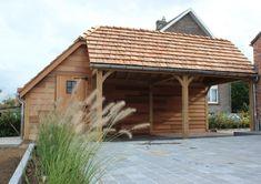 Landelijke houten carports & garages | Eikenhouten bijgebouwen van ...