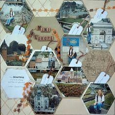 An adorable mini Europe scrapbook! Read on for more travel and vacation scrapbook page ideas. Mini Album Scrapbook, Album Photo Scrapbooking, Scrapbooking Digital, Travel Scrapbook Pages, Vacation Scrapbook, Birthday Scrapbook, Scrapbook Journal, Baby Scrapbook, Scrapbook Cards