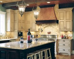 Kitchen Cabinets, beautiful kitchen island counter