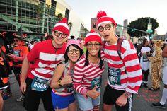 Running Waldos Running Costumes, Game Costumes, Group Costumes, Costume Ideas, Run Disney, Disney World Trip, Disney Star Wars, Halloween Run, Halloween Ideas