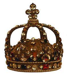 3. Coroa do Antigo Regime francês, usada por Luís XV. Ano: 1722; Museu do Louvre, Paris.